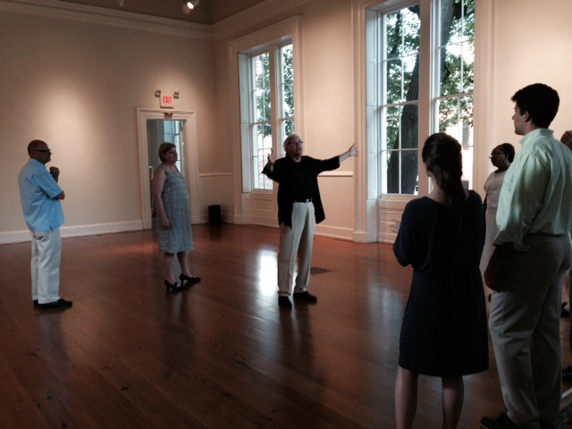 Alexandria Ballroom dance class at the historic Athenaeum in Old Town