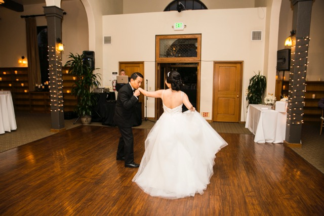 Yoko and Erik's First Dance