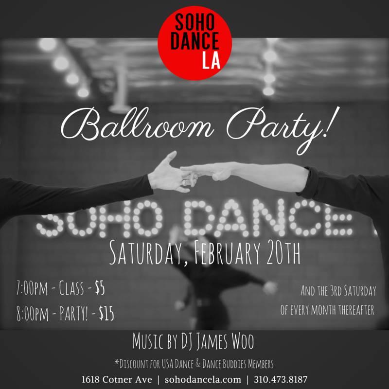 Ballroom Parties