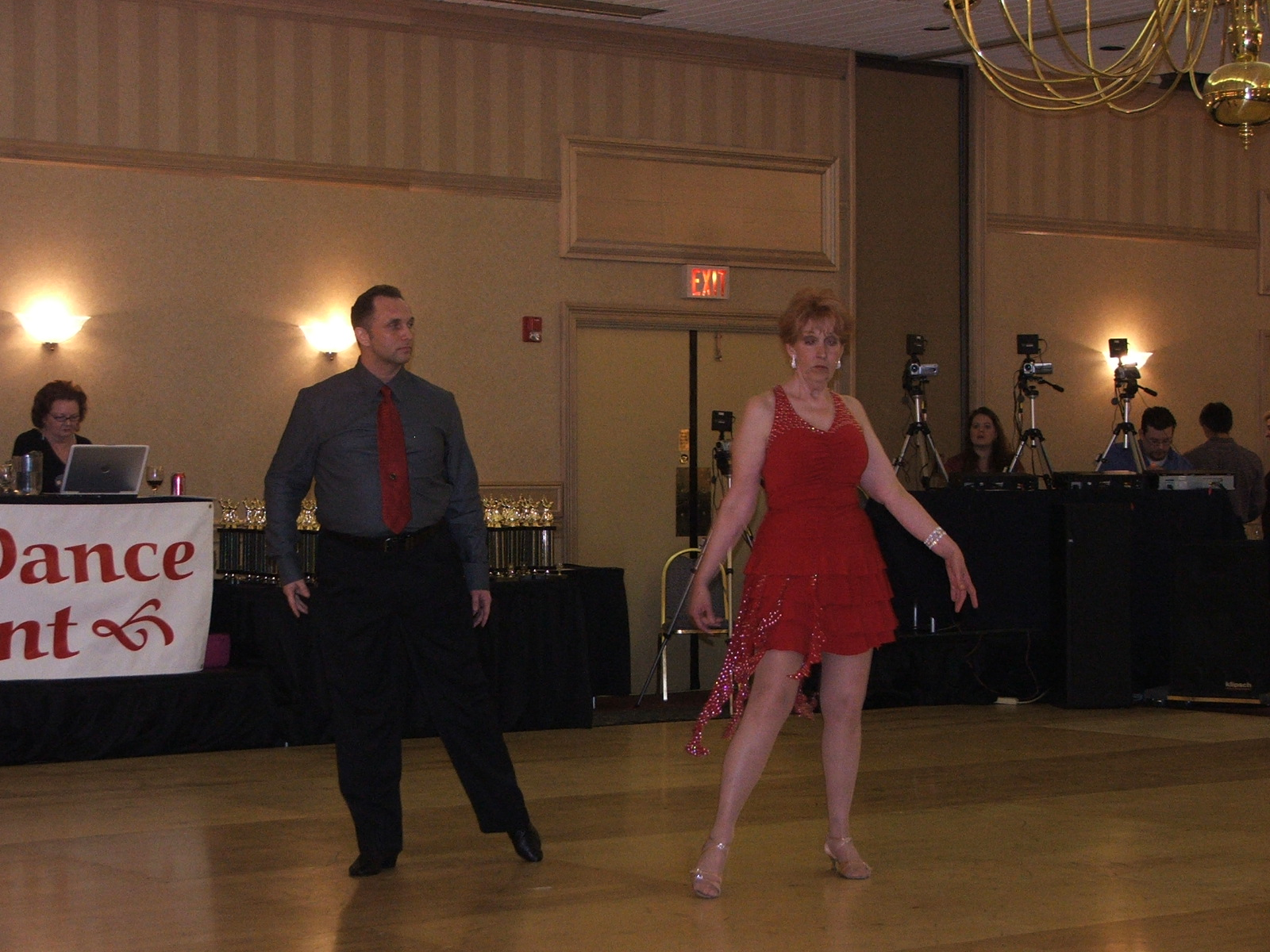 Student Mary Stone dancing a Showcase routne