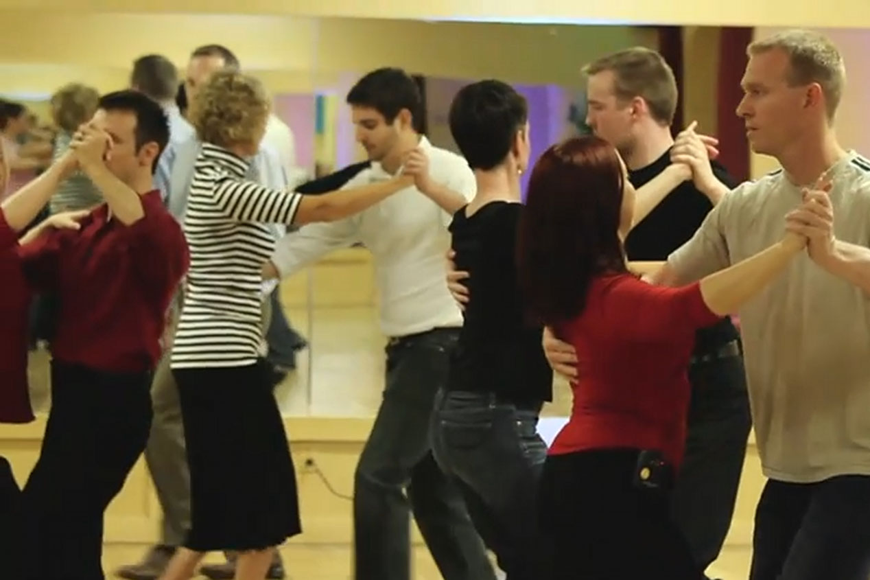 Group Class Dancing
