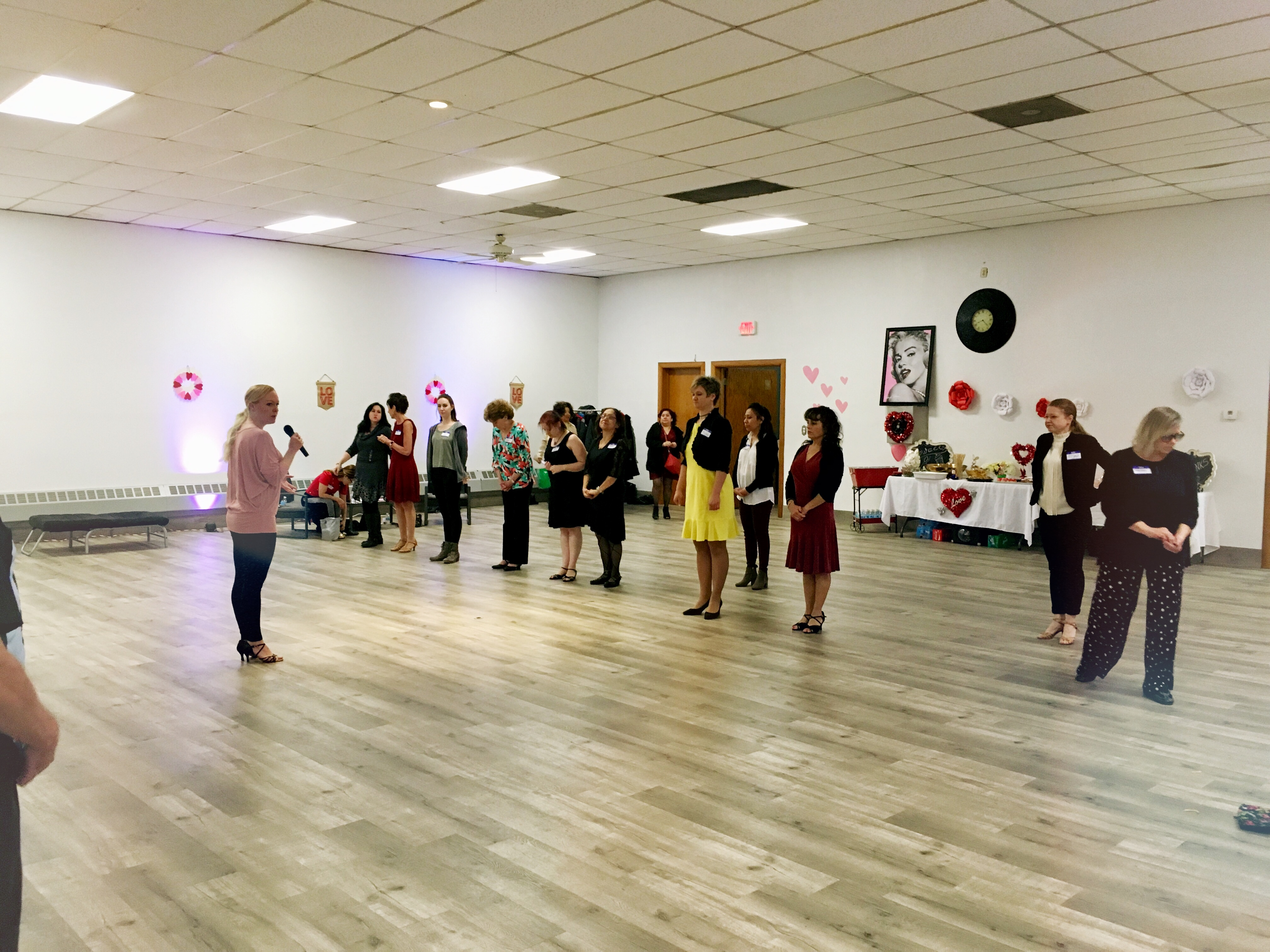 Valentine Group Class at Dance Tonight