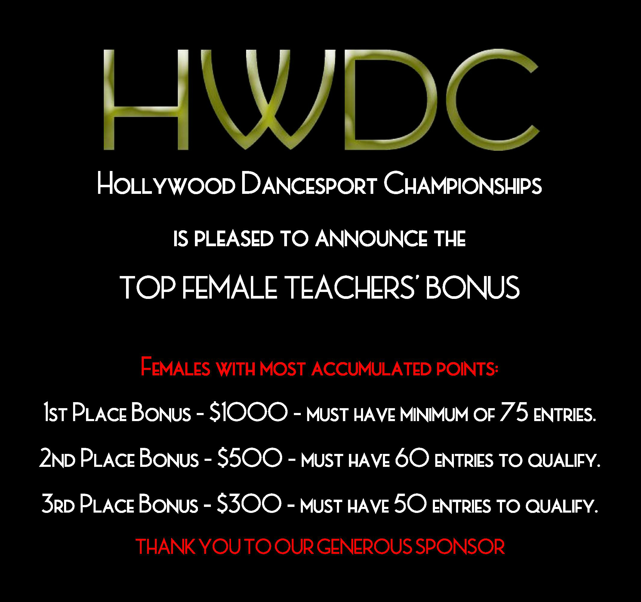 Hollywood DanceSport Championships