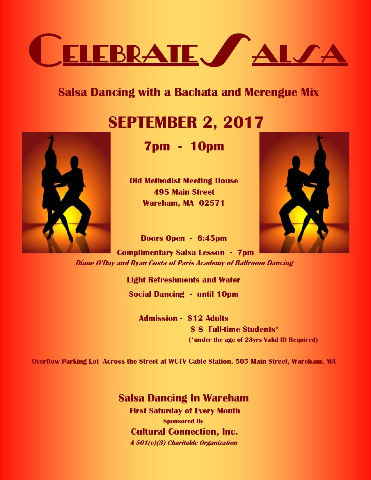 Celebrate Salsa Dance - September 2, 2017