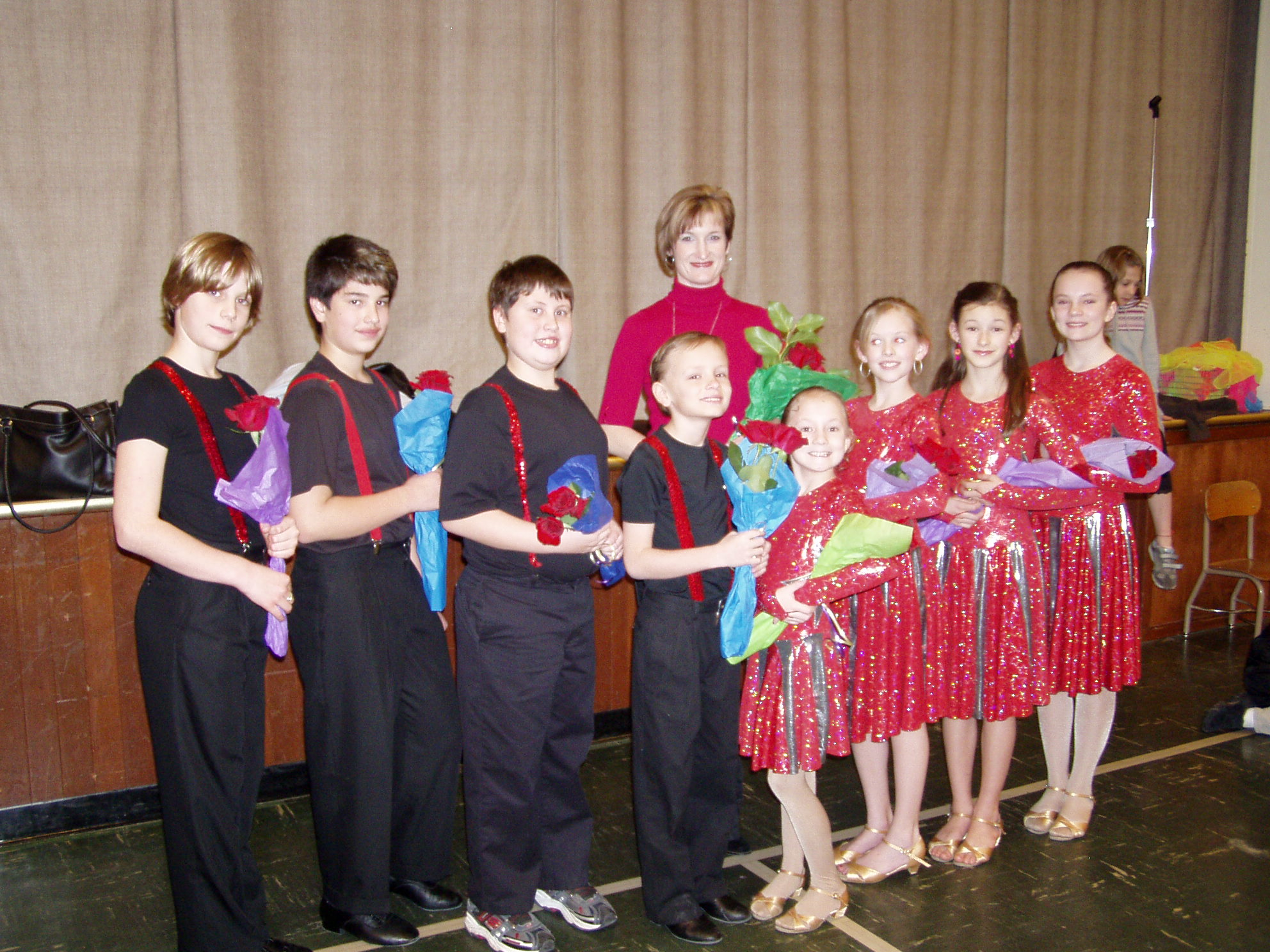 Kids Ballroom Performance
