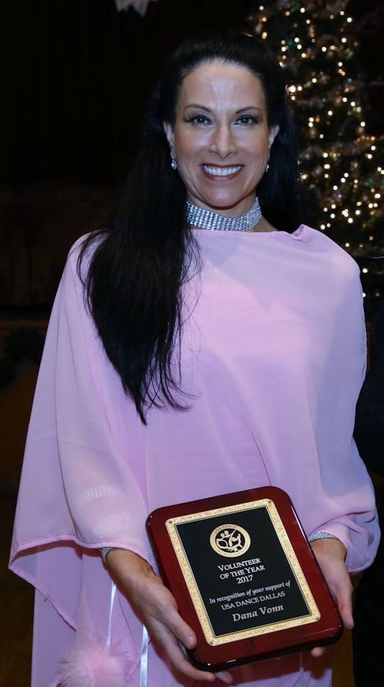 2017 Volunteer of the Year Dana Vonn