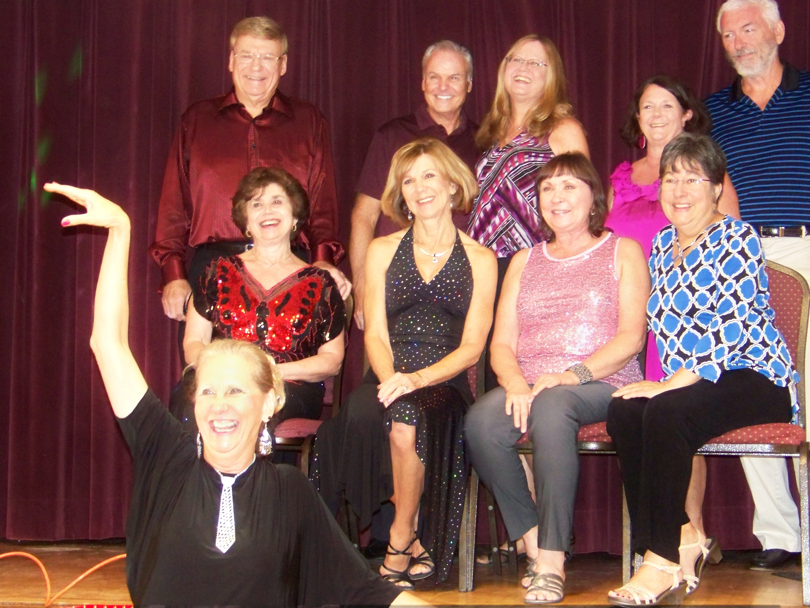 USA Dance Board with Jamboree Organizer Rosemary Farrell
