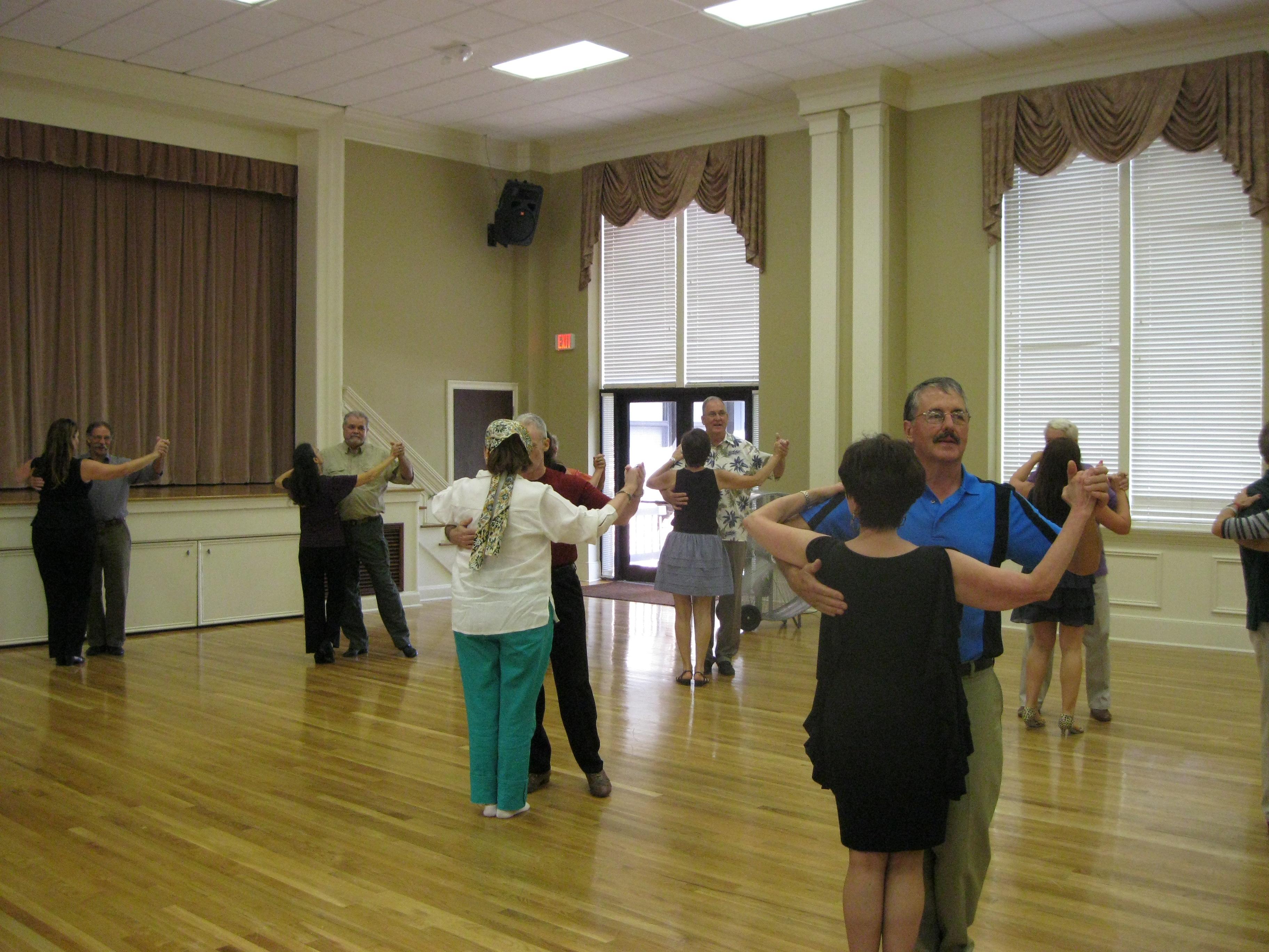 Fun at the August Social Dance