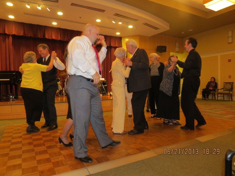 Dancing with the residents-2