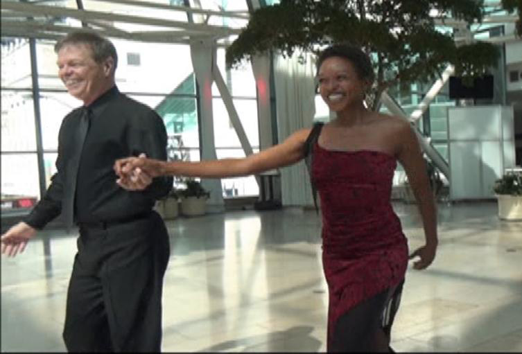 Larry Gogel and Candi Perry Finish Cha Cha