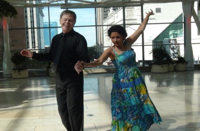 Larry Gogel and Uma Chaluvadi Rumba