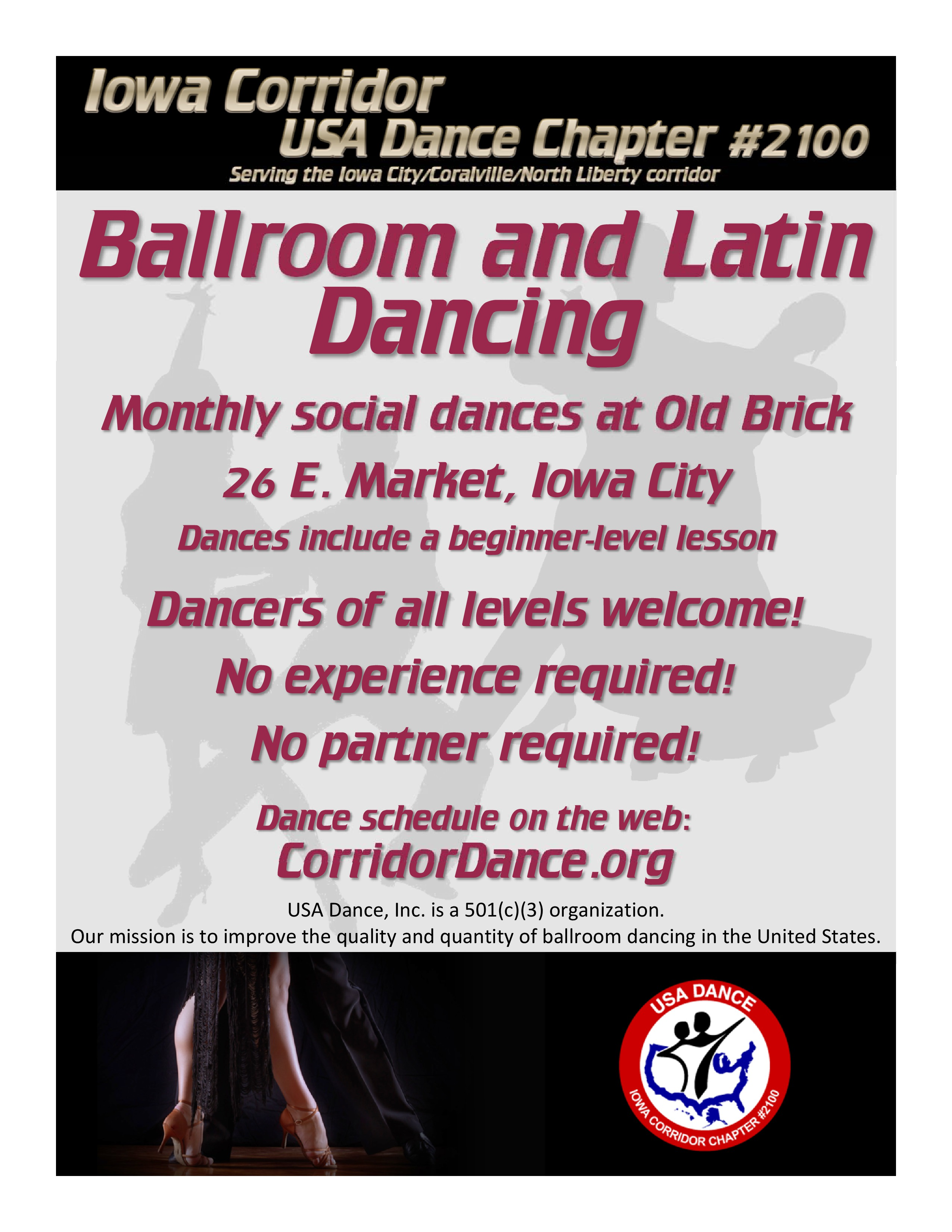 Monthly Dances