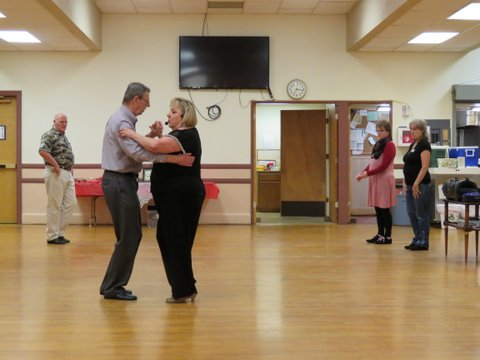 Jan Madison teaches Samba