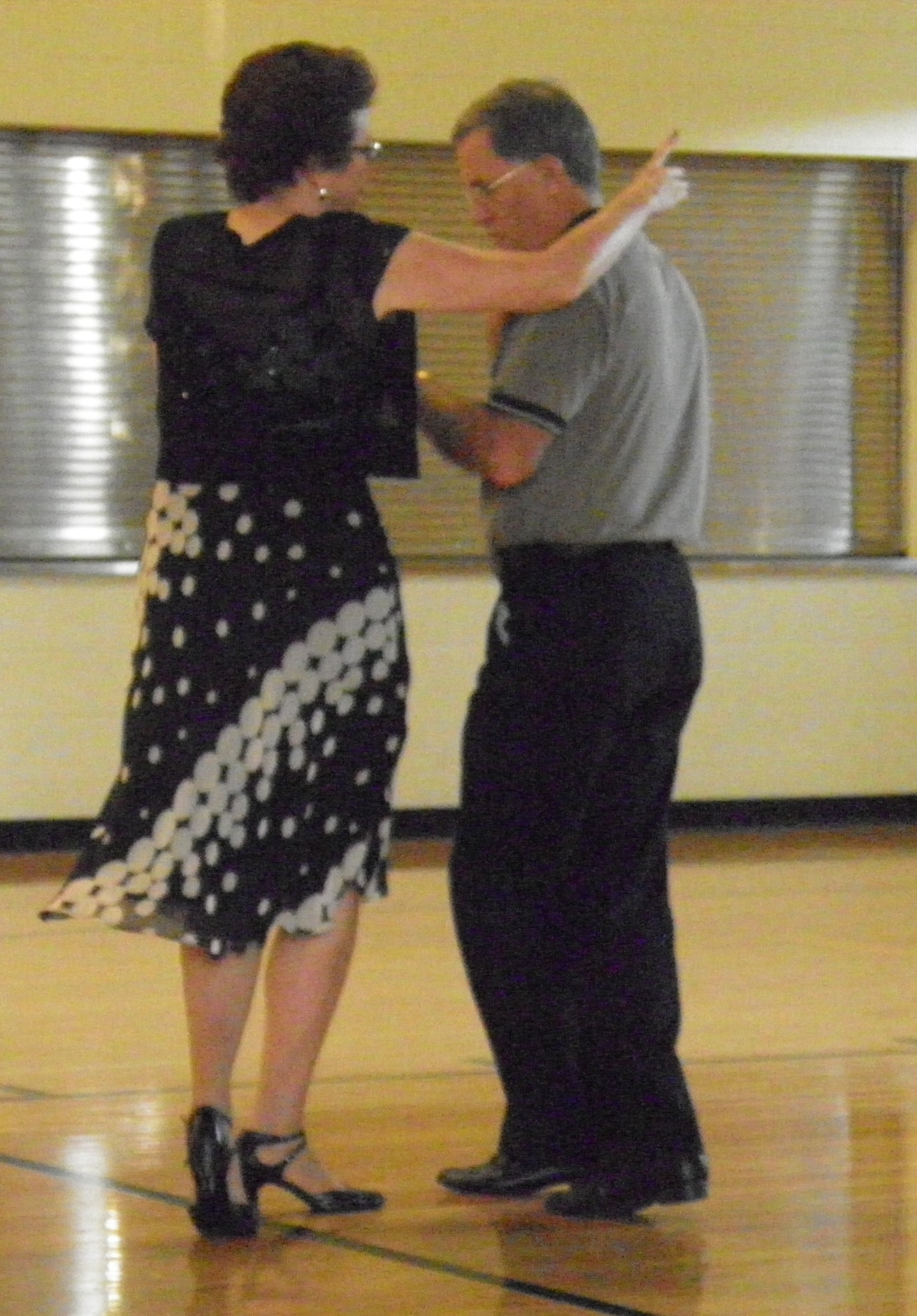 Doug and Marge Deline dancing the night away