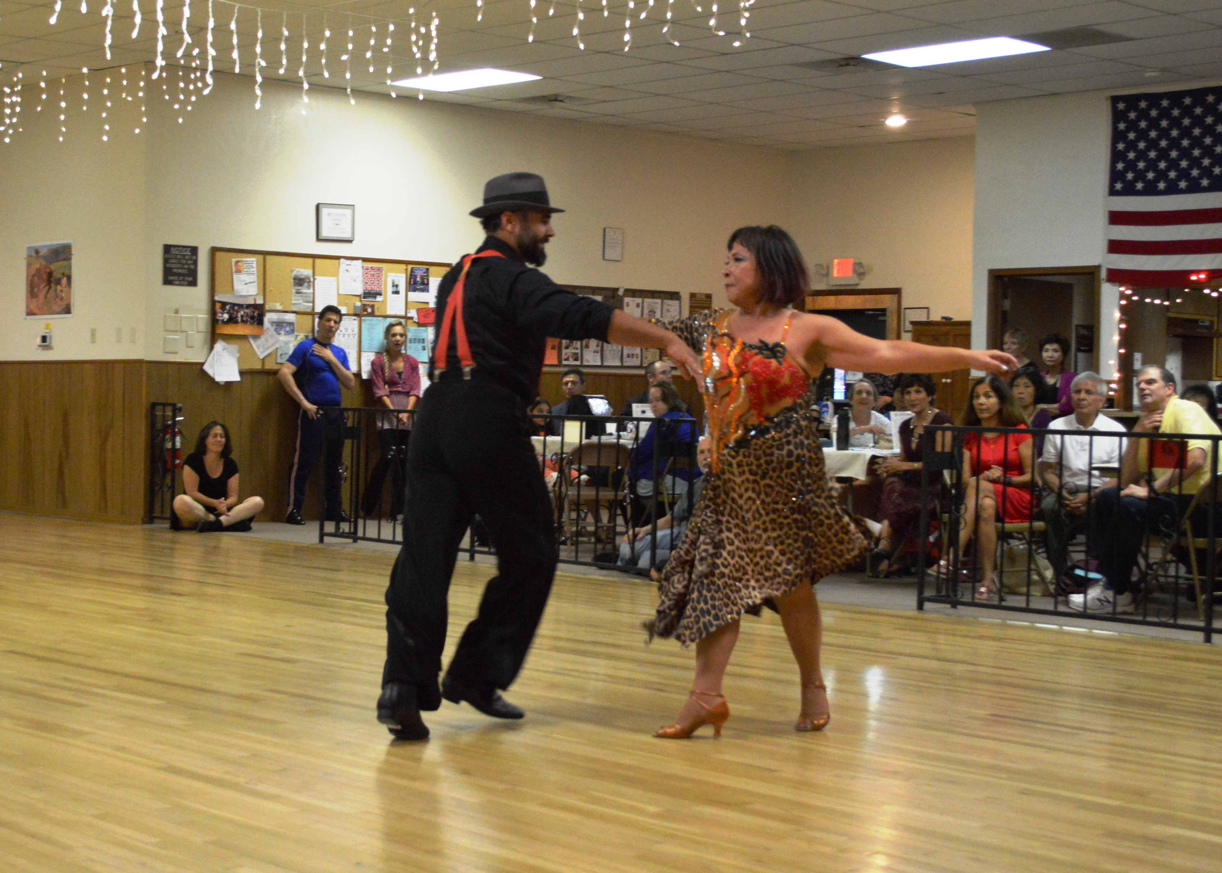 Eileen and David Dancing