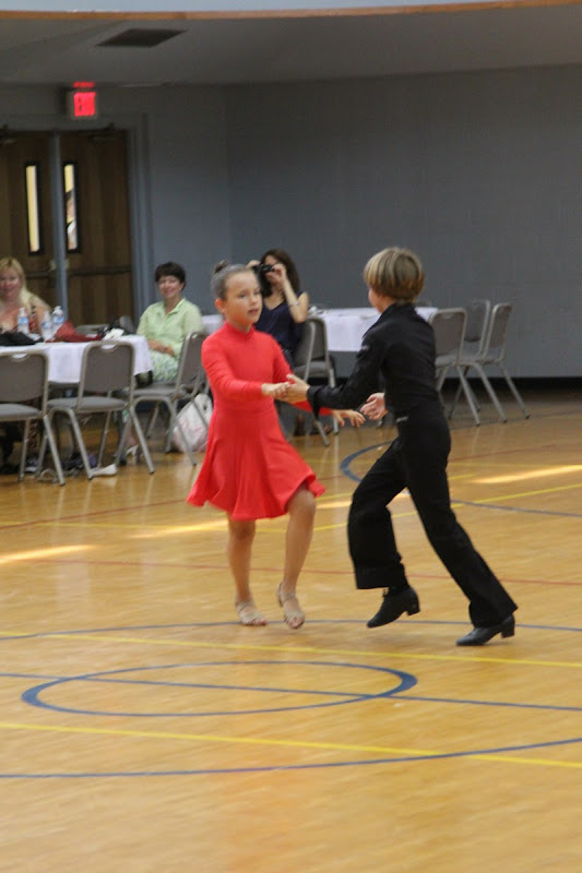 Our youth competitors perform at a dance break
