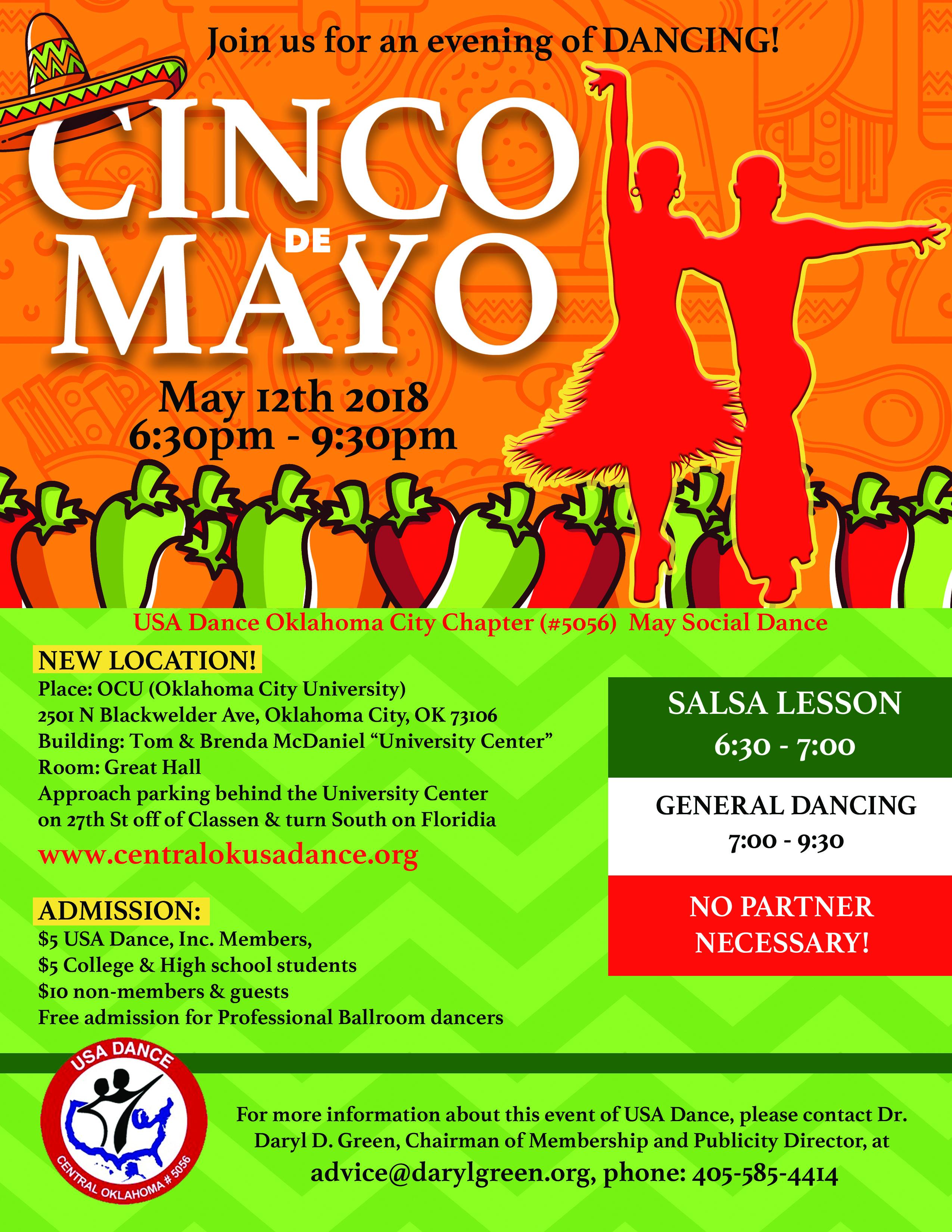 Cinco de Mayo Social Dance 2018 May