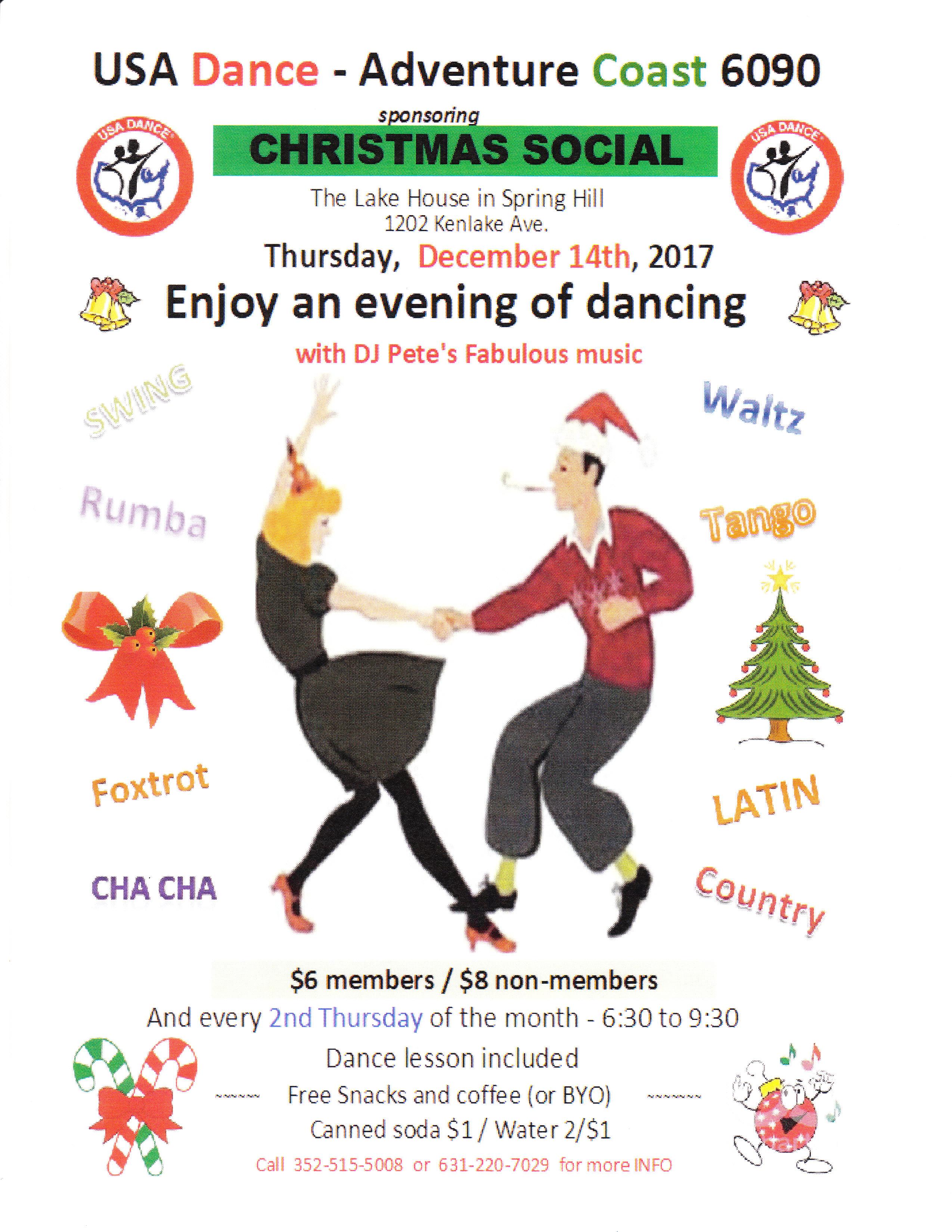 2017 Christmas Dance Social