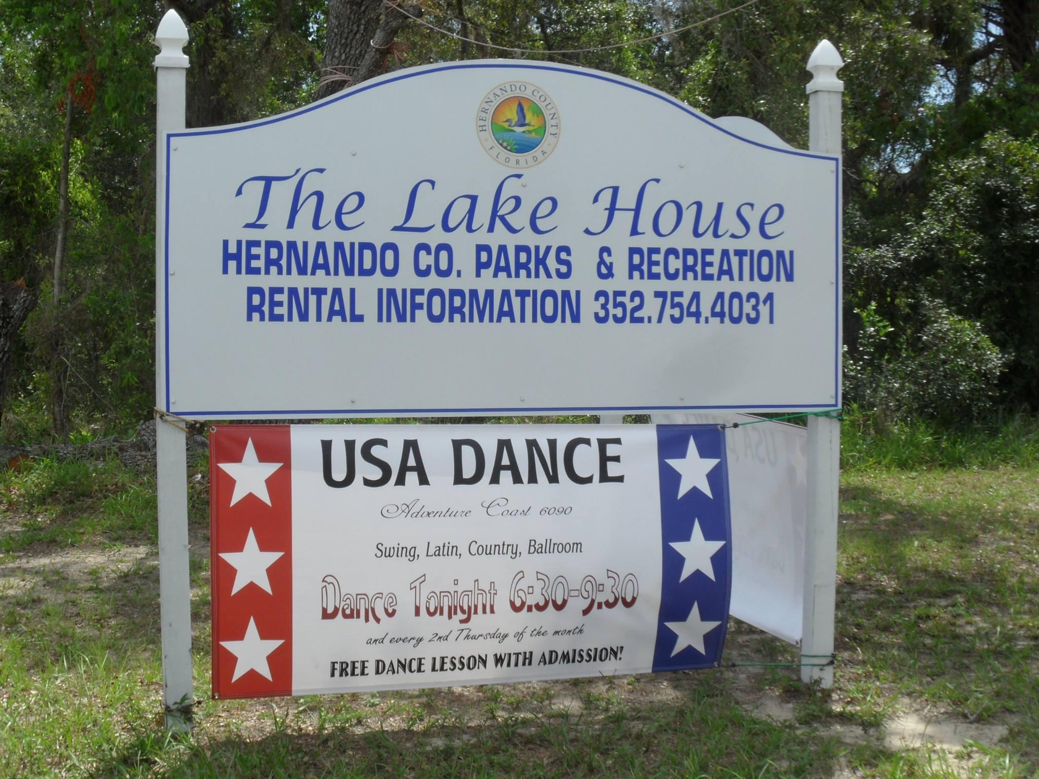 Join USA Dance at The Lake House
