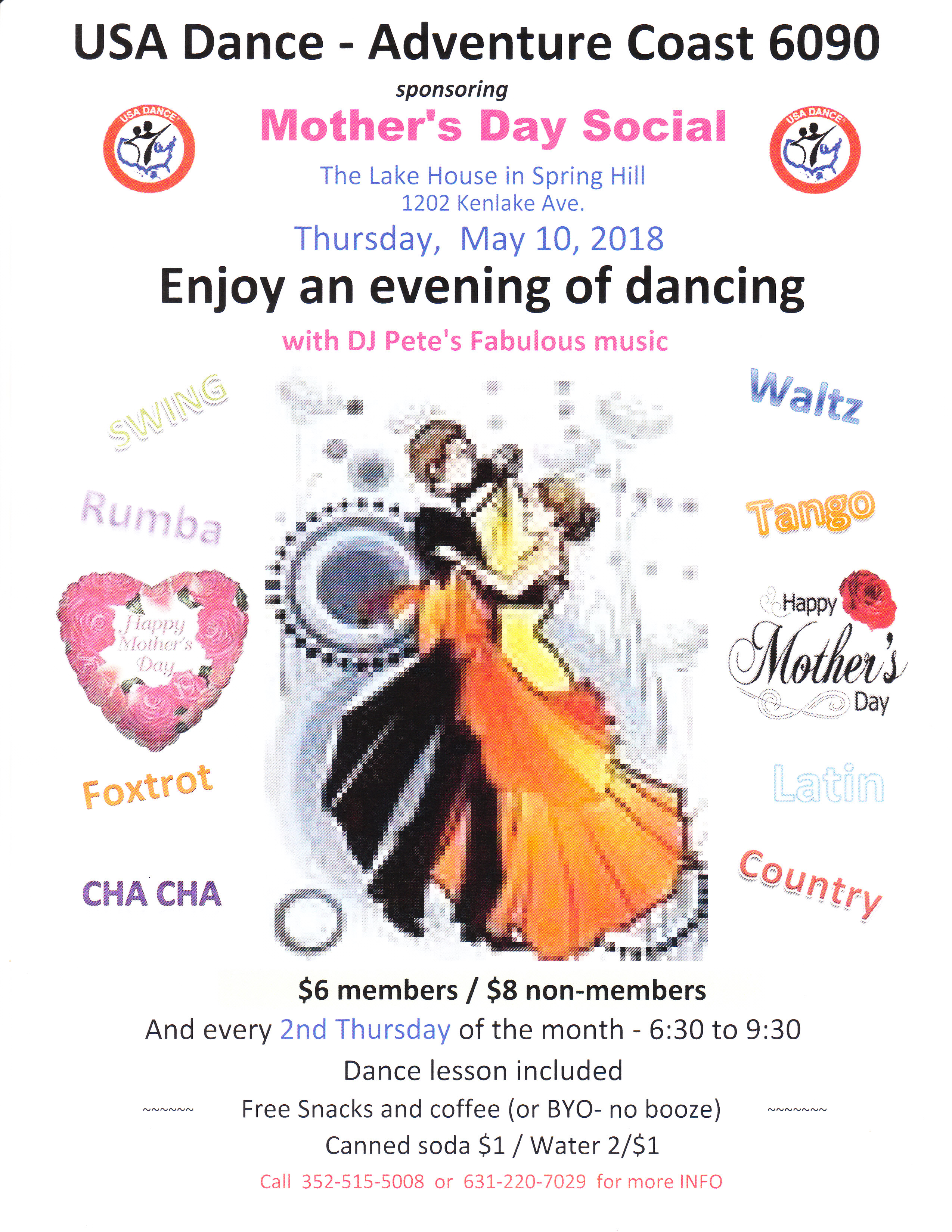 2018 May Mother's Day Social