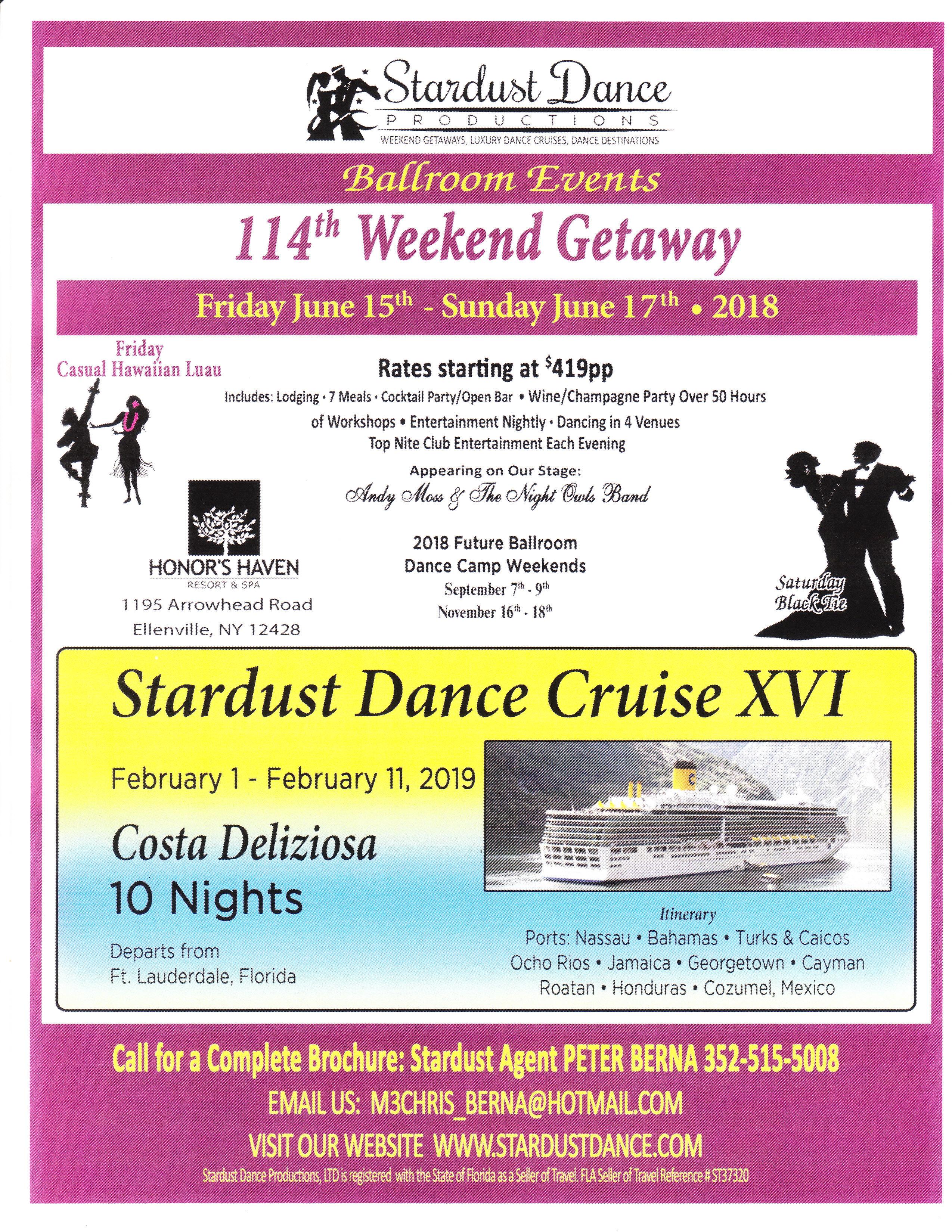 Stardust 2019 Cruise