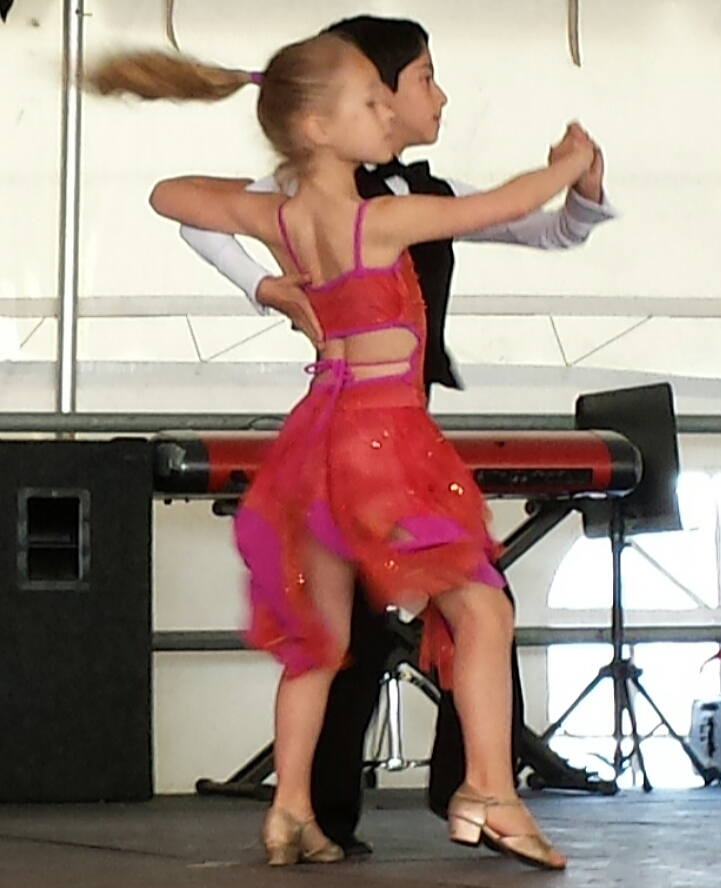 Dance Fireworks Tango Demonstration