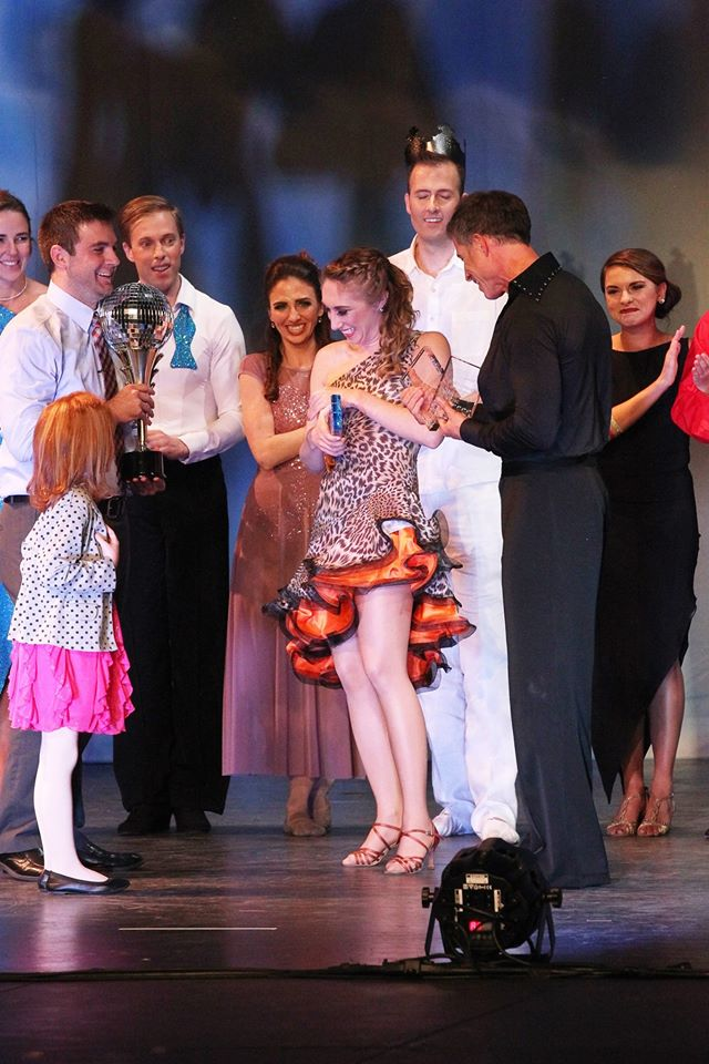 Winners of Dancing with the Rogue Valley Stars 2015