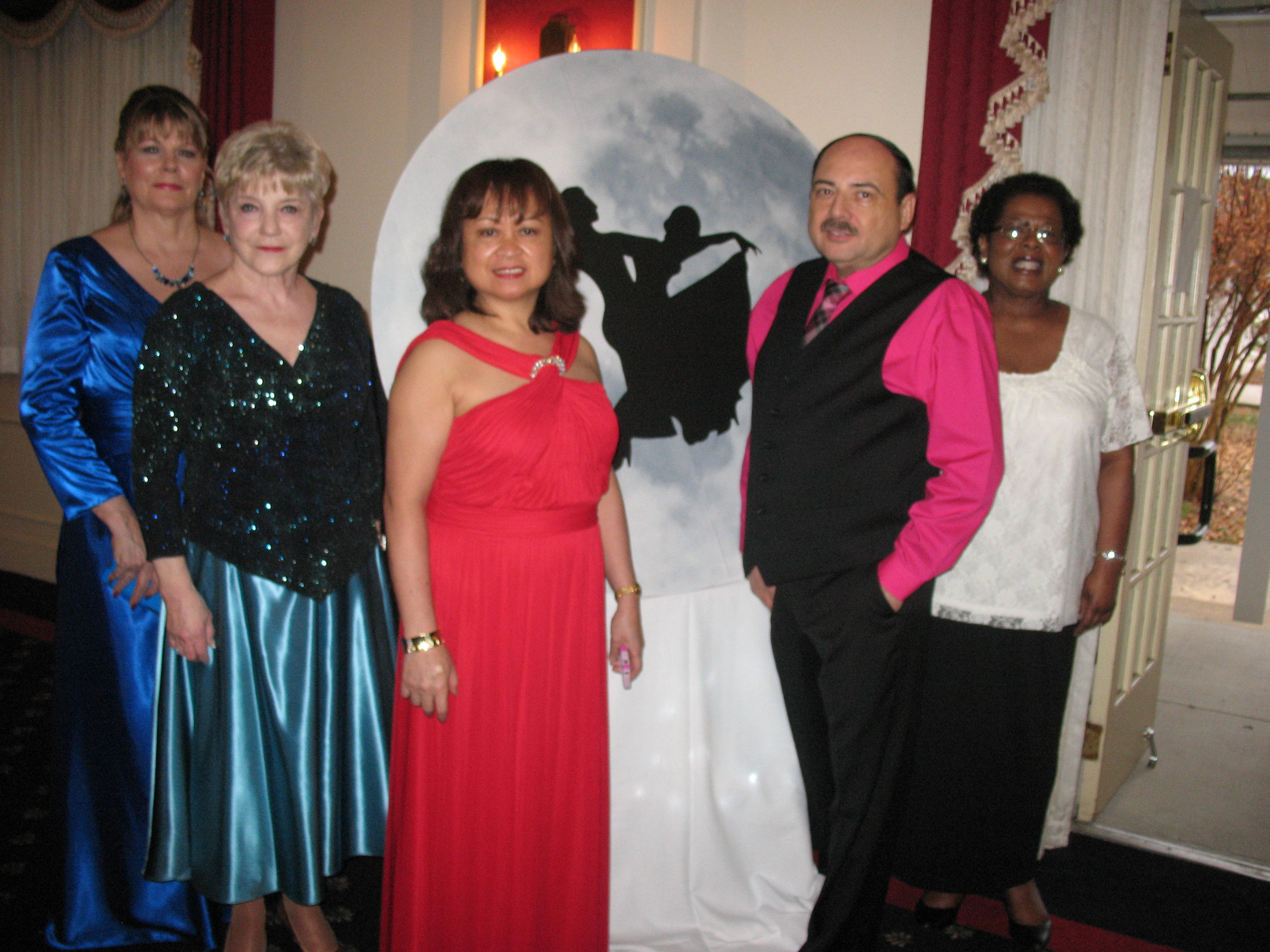 Board Members Attending Dance by the Light of the Moon